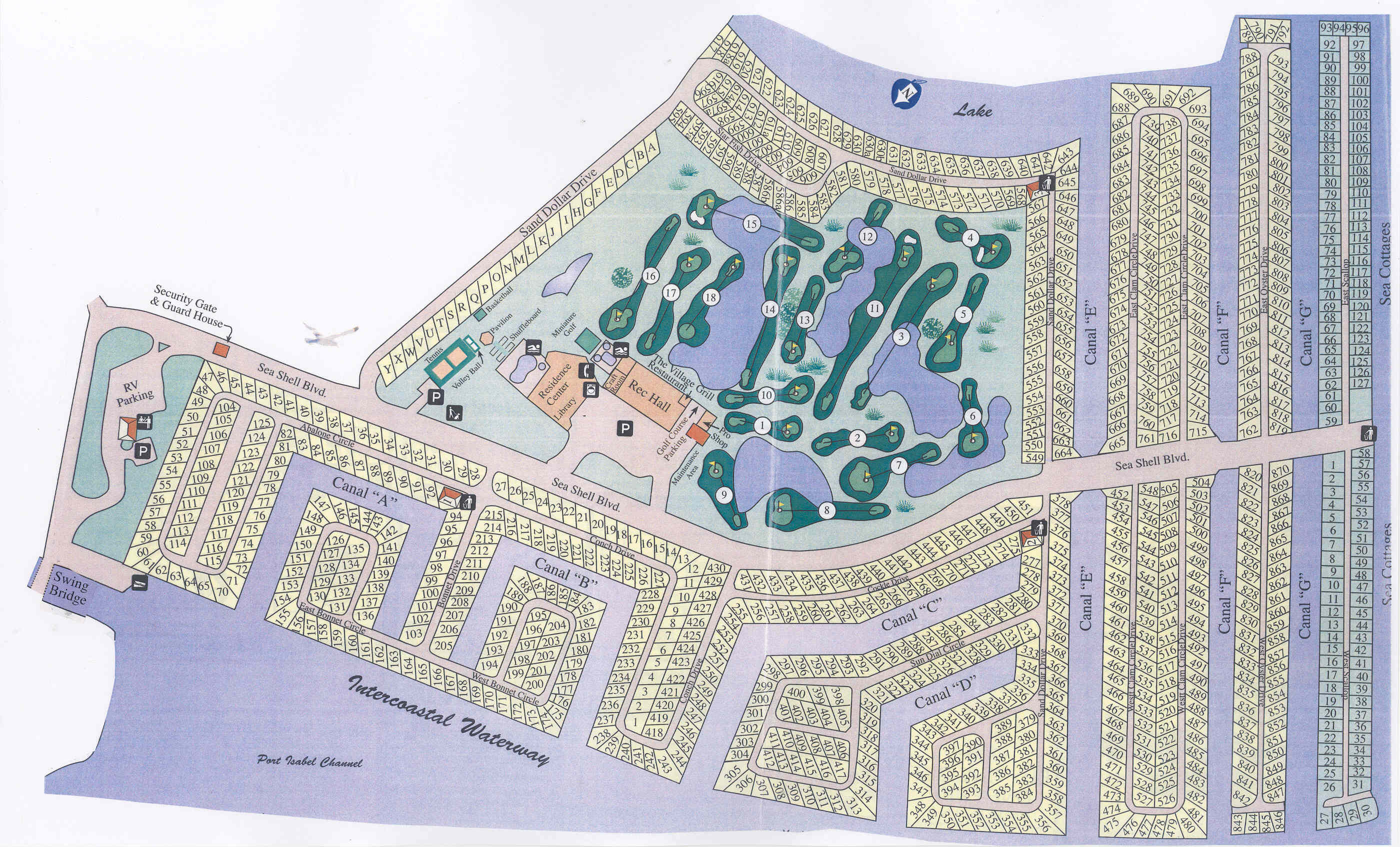 Long Island Village Map South Padre Island Vacation Rental